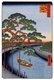 Japan: Autumn: 'Five Pines' and the Onagi Canal (��������). Image 97 of '100 Famous Views of Edo'. Utagawa Hiroshige (first published 1856�59)
