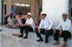 Thailand: Haw Muslim men in the mosque at Mae Sai, Chiang Rai Province, northern Thailand