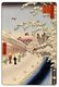 Japan: Winter: Atagoshita and Yabu Lane (�����路). Image 112 of '100 Famous Views of Edo'. Utagawa Hiroshige (first published 1856�59)